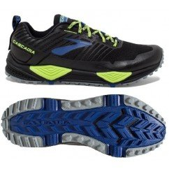 Chaussure de trail running Brooks Cascadia 13 homme 1102851d004 black / nightlife / blue