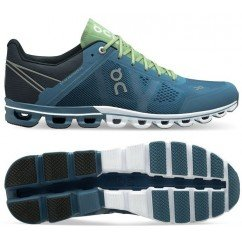 chaussure de running on running cloudflow 15.99965 lake / fern