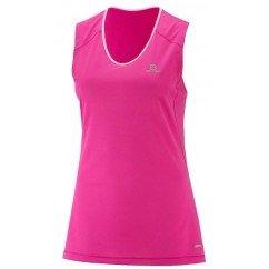 débardeur de running pour femmes salomon trail runner sleeveless l400925
