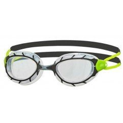 lunettes de triathlon zoggs predator 334863 black / lime / clear