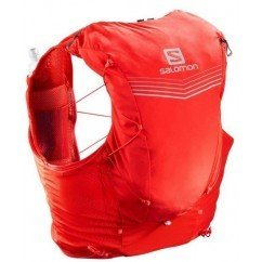 sac de trail running salomon adv skin 12 set fiery red lc108760