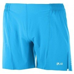 SALOMON S/LAB SHORT 6 M TRANSCEND BLUE