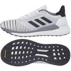 chaussures de running pour hommes adidas solar glide cq3177 white / black