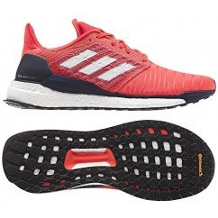 chaussures de running pour hommes adidas solarboost b97434 activ pink / ftwr white / legend ink