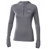 W ASICS MAILLOT MANCHES LONGUES HOODIE GREY