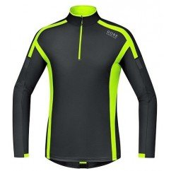 GORE POLO AIR 1/2 ZIP FLUO