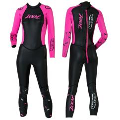combinaison en neoprene de triathlon pour femme zoot wahine free