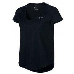 tee shirt de running pour femmes w nike tee dri fit 891174-010