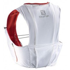 SALOMON Bag S-LAB SENSE ULTRA 8 SET White/RD L39381400