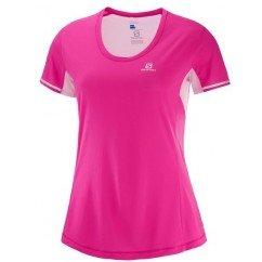 tee shirt de running pour femme agile ss tee l401242