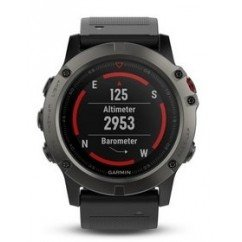 montre cardiofrequencemetre de running gps garmin fenix 5 x saphire