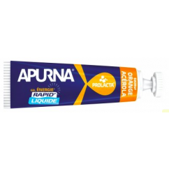Apurna Gel Énergie Liquide Orange Acérola