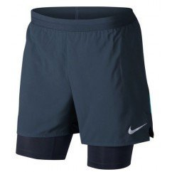 short de running pour hommes nike short flex 2in1 904456