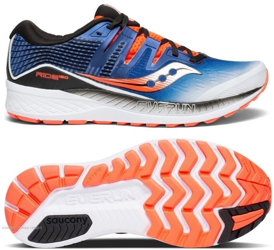 Hommes Chaussures Ride Iso Pour 35 S20444 De Running Saucony wNmv8n0
