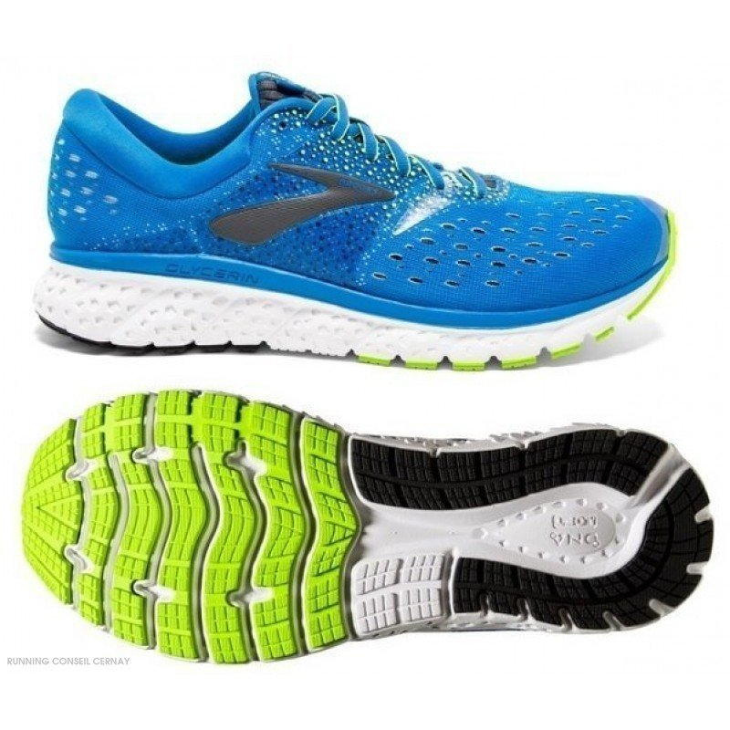 Brooks Homme 16 Running 1102891d437 Pour Glycerin Chaussure De wX80PnOk