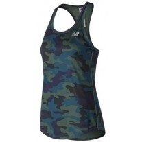 W NEW BALANCE PRINTED ACCELERATE TANK