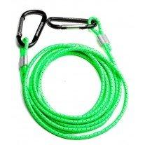 Swimrunners elastic cord support green