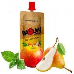 Baouw Compote Energétique Poire-Pomme-Menthe