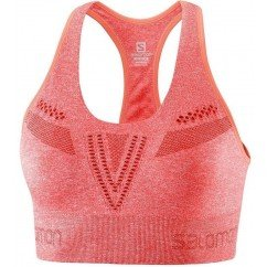 brassière de running pour femmes salomon move'on bra dubarry heather lc108200