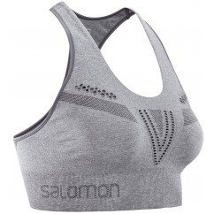 brassière de running pour femmes salomon move'on bra urban chic heather lc108230