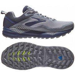 Chaussure de trail running Brooks Cascadia 14 hommes 1103101d020 grey / navy
