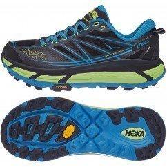 chaussure de trail running hoka mafate speed 2 pour homme 1012343 nibc nine iron / black