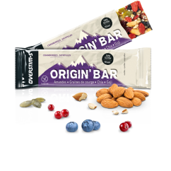 OVERSTIM'S ORIGIN'BAR CRANBERRIES MYRTILLES