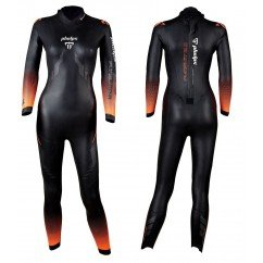 combinaison de triathlon en neoprene pour femme aquasphere pursuit 2.0