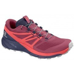 chaussures de trail running pour femmes salomon sense ride 2 406769 malaga / dubarry / crown blue
