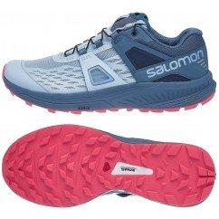 chaussure de trail running pour femmes salomon ultra pro 404948 cashmere blue / bluestone dubarry