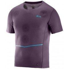 tee shirt de running pour hommes salomon s/lab nso tee lc104460 maverick
