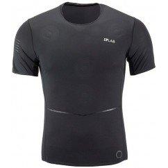 tee shirt de running pour hommes salomon s/lab nso tee lc104470 black/black