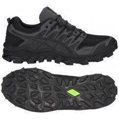 chaussure de trail running asics gel fuji trabuco 7 gtx 1011a209 001 black / dark grey