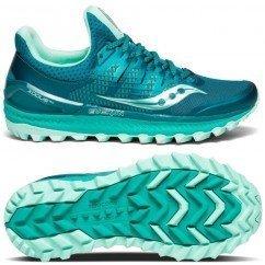 chaussure de trail running pour femmes saucony xodus ISO 3 s10449-35 green / aqua