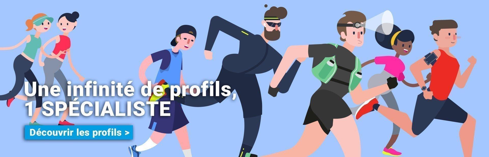 Une infinité de profils running conseil
